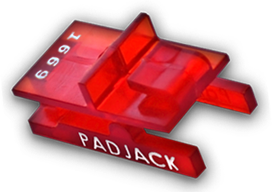 PadJack SV RJ45 Lock Protects From Internal Security Breachs